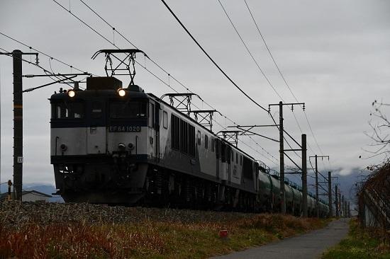 2019年11月26日撮影 西線貨物6088レ