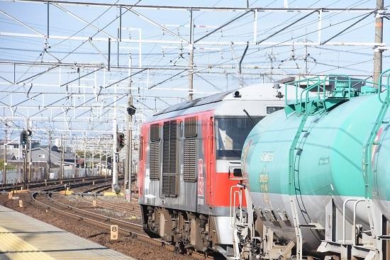 2019年12月29日撮影 清洲駅にてDF200-222号機後撃ち