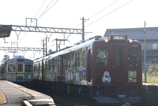 2019年11月16日撮影 養老鉄道7700系と600系交換