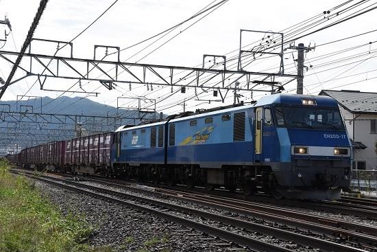 2019年9月30日 東線貨物2083レ EH200-17号機