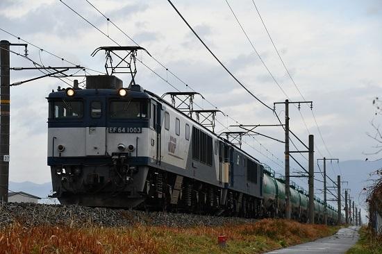 2019年11月27日撮影 西線貨物6088レ