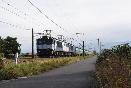 2019年10月1日 西線貨物6088レ