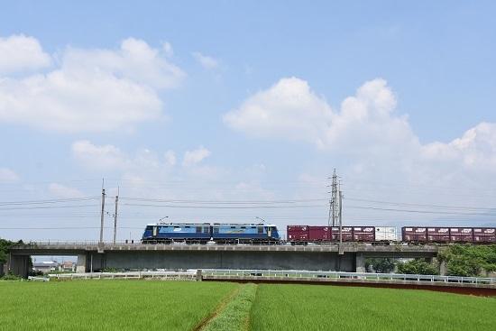 2019年8月1日東線貨物2083レ EH200-19号機をサイドから