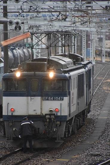 2019年12月30日撮影 南松本にて西線貨物8084レ 仕業点検中