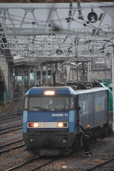 2019年12月30日撮影 東線貨物2080レ EH200-11号機