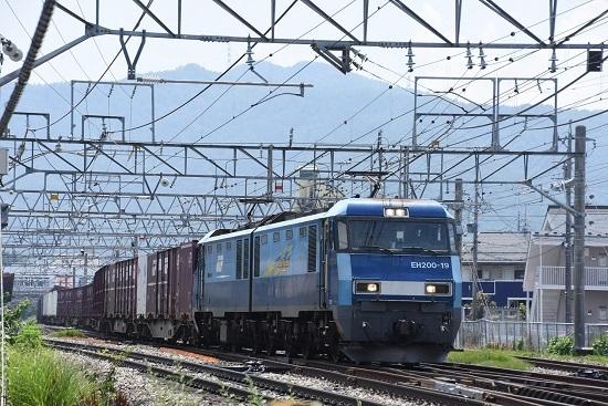 2019年8月1日東線貨物2083レ EH200-19号機