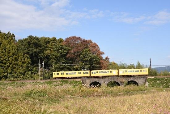 2019年11月16日撮影 三岐鉄道 北勢線 眼鏡橋