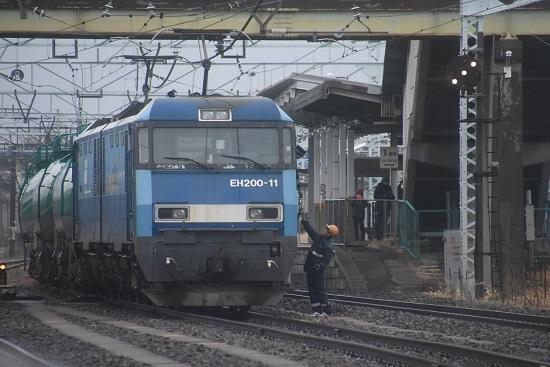 2019年12月30日撮影 東線貨物2080レ 無線区返却