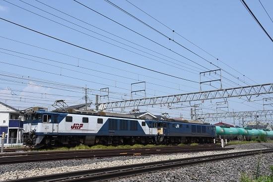 2019年8月2日 西線貨物8084レ EF64-1036+1022号機