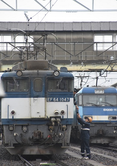 2019年12月30日撮影 西線貨物8084レ 無線機返却