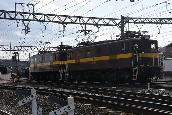 2019年11月16日撮影 三岐鉄道 ED5081号機機回し