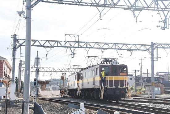 2019年11月16日撮影 三岐鉄道 ED5081号機工場より戻り