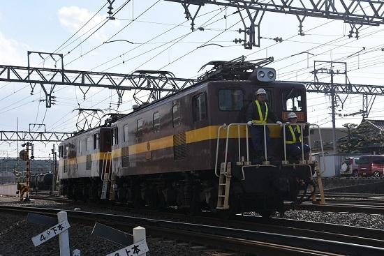 2019年11月16日撮影 三岐鉄道 ED5081号機 工場へ向けて