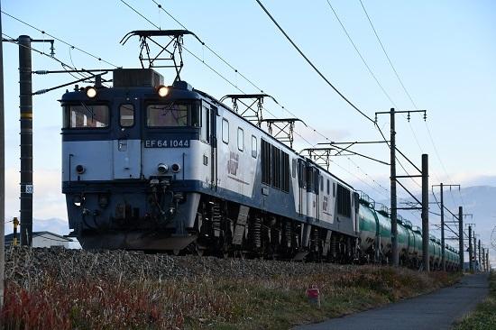 2019年11月29日撮影 西線貨物6088レ