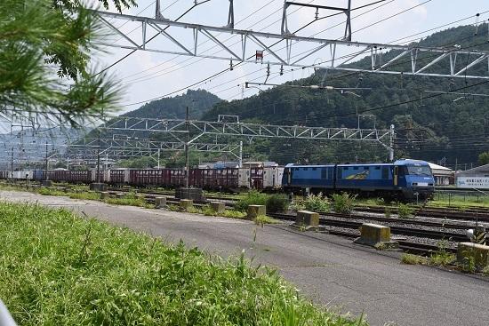 2019年8月3日 東線貨物2083レ 塩尻大門にて