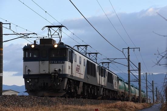 2019年12月31日撮影 西線貨物6088レ