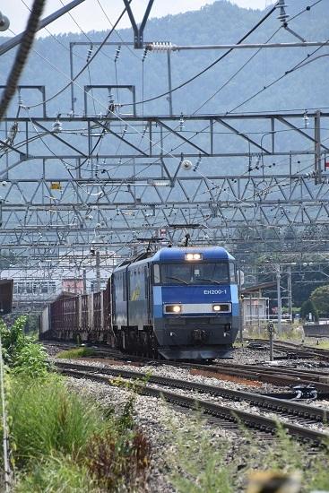 2019年8月3日 東線貨物2083レ 塩尻駅通過
