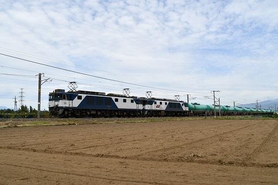 2019年9月20日撮影 西線貨物8084レ EF64-1020号機