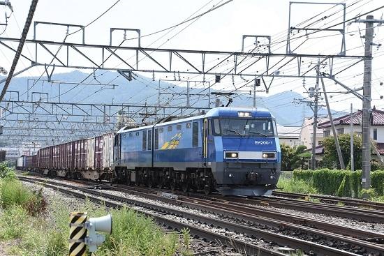 2019年8月3日 東線貨物2083レ EH200-1号機