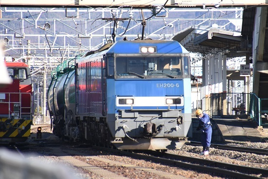 2019年12月31日撮影 南松本にて無線機返却後の挨拶