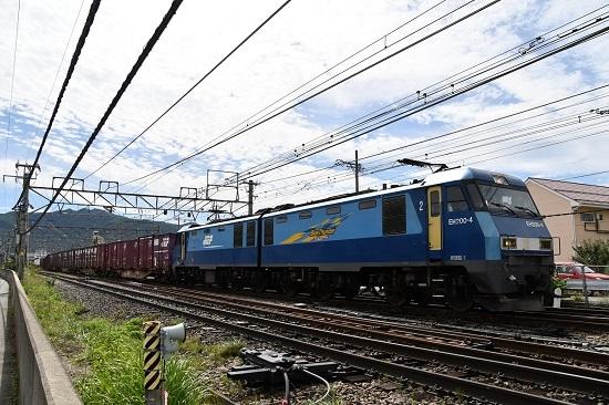 2019年9月20日撮影 東線貨物2083レ 塩尻駅通過