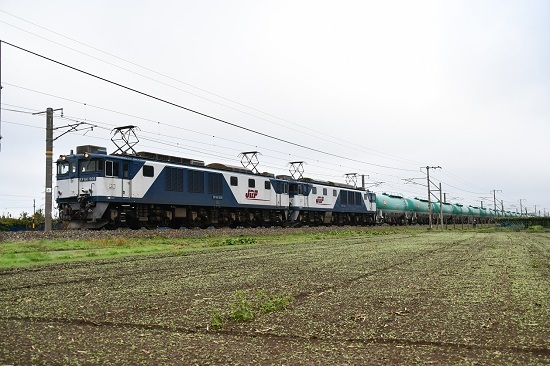 2019年10月23日撮影 西線貨物6088レ
