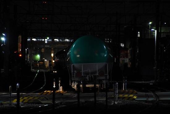 2019年11月16日撮影 8075レ 後撃ち緑タキ