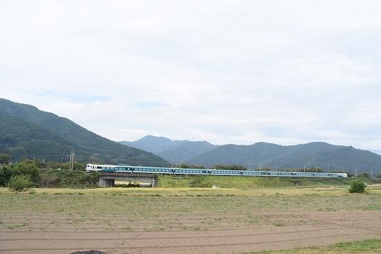 2019年10月3日撮影 E257系2000番台 自走回送