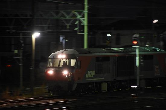 2019年11月16日撮影 塩浜にて DF200-223号機 機回し 3