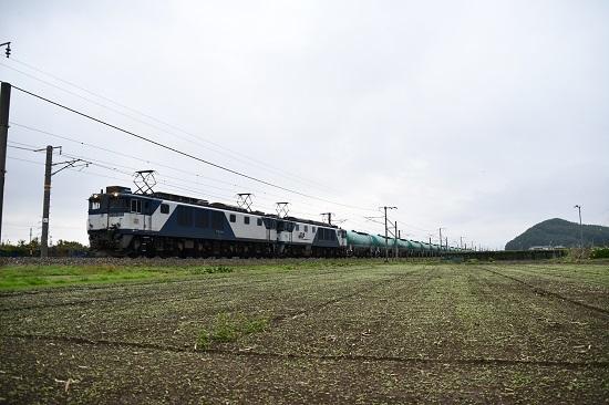 2019年10月24日撮影 西線貨物6088レ