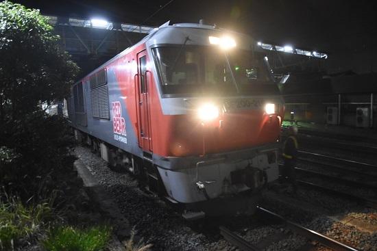 2019年11月16日撮影 DE200-216号機到着