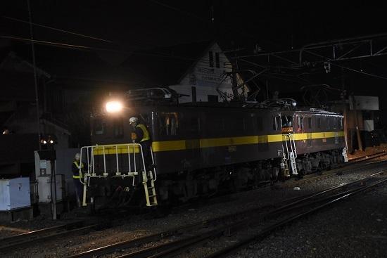 2019年11月16日撮影 関西本線富田駅にてED5081+5082