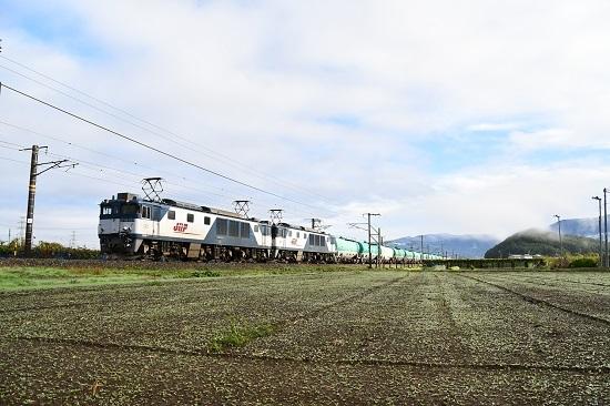 2019年10月26日撮影 西線貨物6088レ