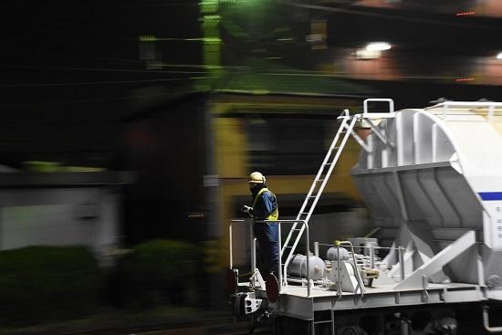 2019年11月16日撮影 富田にてホキ1000を押し込む