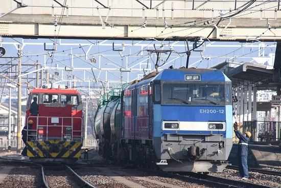 2020年1月3日撮影 南松本にて東線貨物2080レ 無線機返却