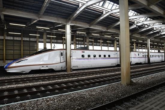 2019年9月22日 E7系上越新幹線