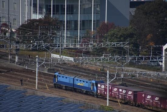 2019年10月30日撮影 東線貨物2083レ EH200-3号機