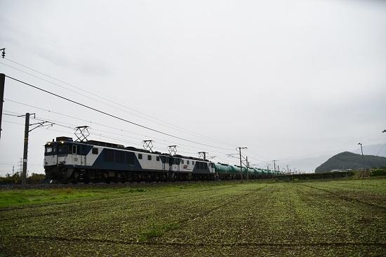 2019年10月29日撮影 西線貨物6088レ