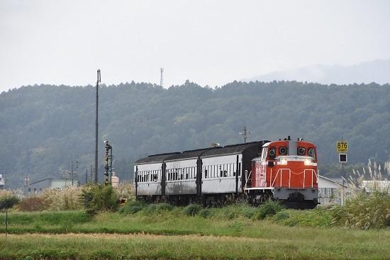 2019年10月5日撮影 9131レ 飯山線開通90周年号