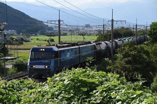 2019年8月12日 東線貨物5460レ EH200-6号機