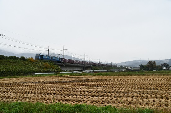 2019年10月29日撮影 東線貨物2083レ EH200-11号機