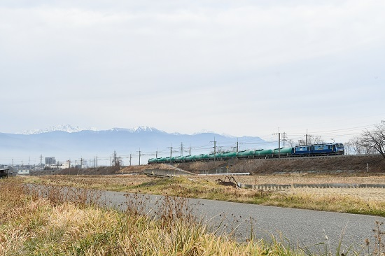 2019年12月22日撮影 東線貨物2080レ EH200-19号機
