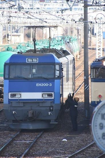 2020年1月11日撮影 南松本にてEH200-3号機