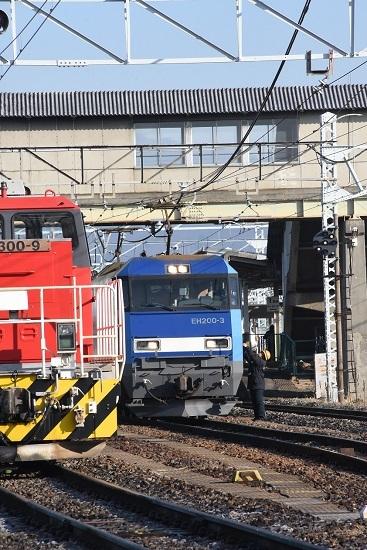 2020年1月11日撮影 南松本にて東線貨物2080レ 無線機返却
