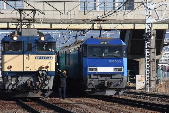 2020年1月11日撮影 南松本にて西線貨物8084レ機回し-5