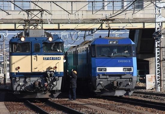 2020年1月11日撮影 南松本にて西線貨物8084レ機回し-6