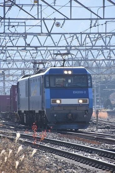 2019年11月21日撮影 東線貨物2083レ EH200-2号機 JRFマーク無し