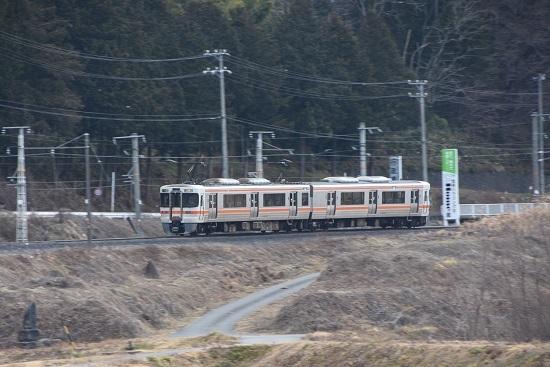 2020年1月12日撮影 飯田線 1415M 313系流し撮り