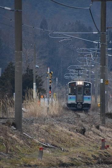 2020年1月12日撮影 辰野線 E127系
