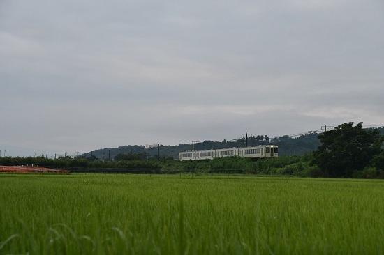 2019年8月10日 飯山線 123D キハ110の4連